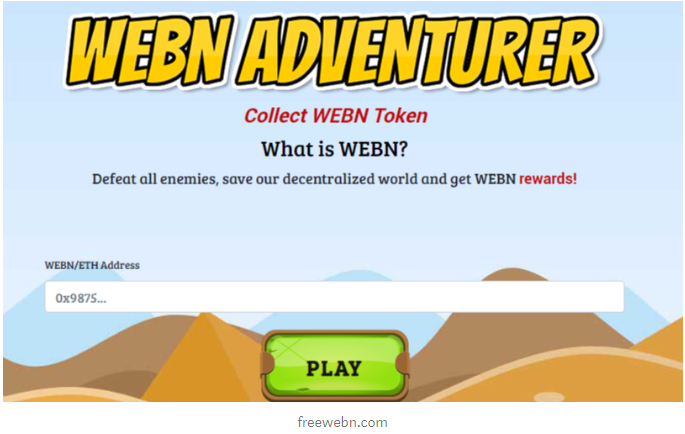 webn token collection page