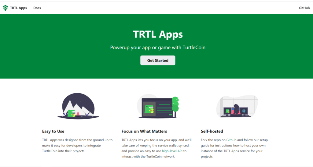 turtlecoin apps website